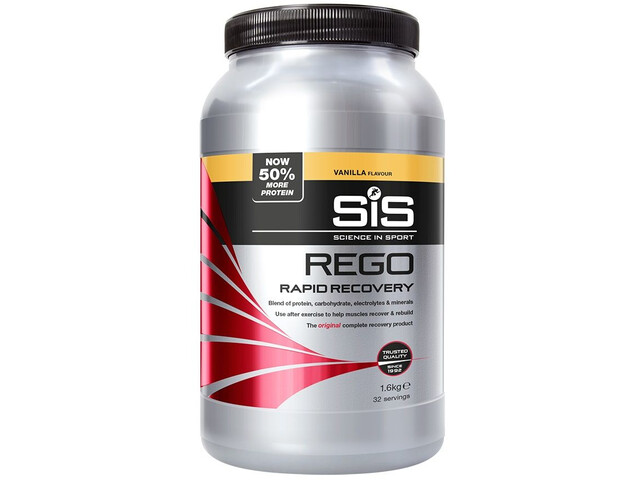 SiS Rego Rapid Recovery Tub 1,6kg, Vanilla